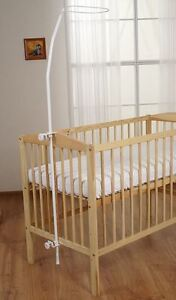 Clamp Holder Rod Bar Pole Fits Baby Cot Bed Canopy