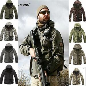 Lurker-Shark-Skin-Soft-Shell-Men-039-s-Outdoors-Military-Tactical-Jacket-Waterproof