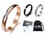 Anello-Fede-Fedina-Uomo-Donna-Fascia-Acciaio-Argento-Nero-Oro-Incisioni-Nome-Dat miniatura 1