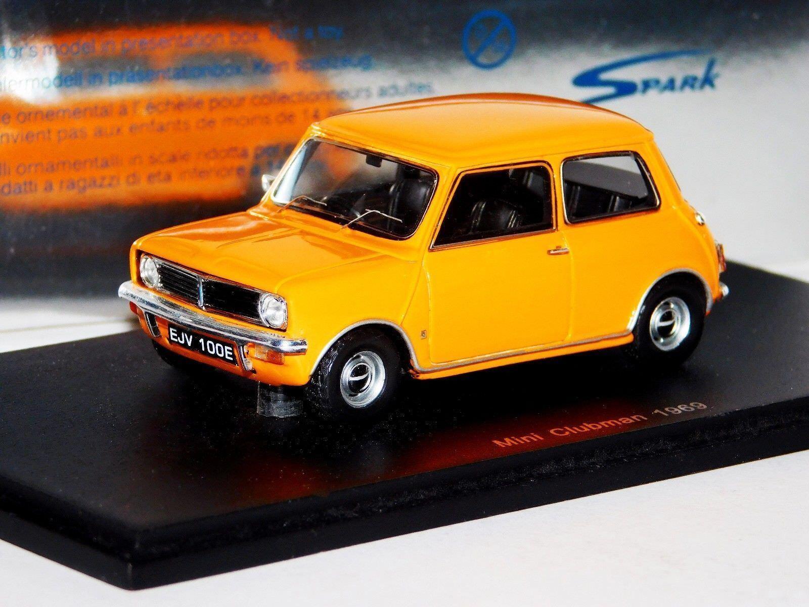 MINI CLUBMAN YELLOW 1969 SPARK S1503 1 43