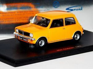 Mini Clubman Yellow 1969 Spark S1503 143 9580006915030 Ebay