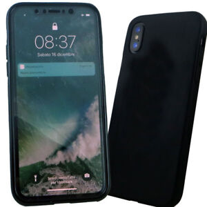 custodia integrale iphone x