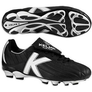 Men s Kelme Katia Brazil TRX Soccer Cleats - Black White - NIB!  8ec8e34224ad5
