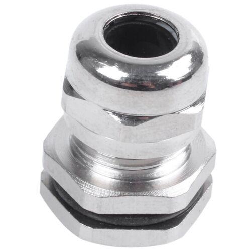2X Metall-Kabelverschraubung PG9 fuer 3-6 mm dicke Kabel B4T2