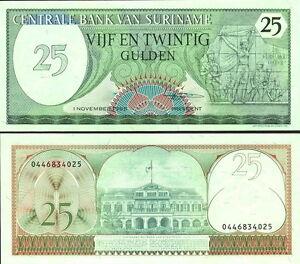 SURINAME-25-gulden-1985-FDS-UNC