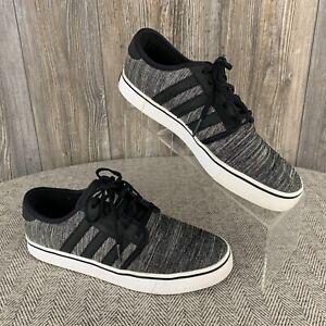 Infantil tallarines Empresa  Adidas Skateboarding Zapatos de hombre talla 8 ~ ~ Encaje Tie Gris  Oscuro/Blanco ~ Trébol Logo | eBay