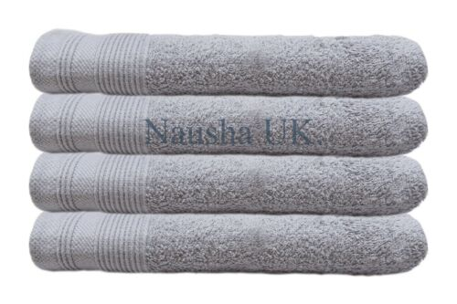 Luxury 2 /& 4 Pack 100 /% Cotton Extra Soft Hand Towels Face Bath Gift Bathroom UK