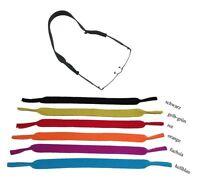 NEU | NEOPREN Sportband / Brillenband / Brillenkordel schwarz + 5 Farben | TOP