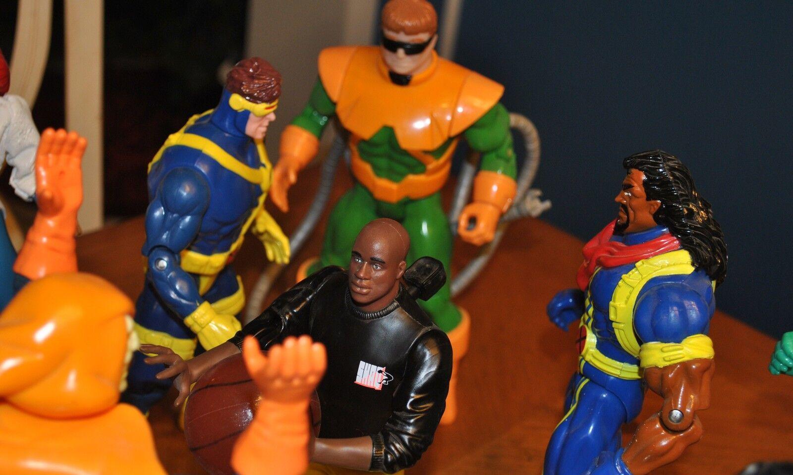 MARVEL UNIVERSE   NBA JAMS - SHAQUILLE O'NEAL, SPIDERMAN, SPIDERMAN, SPIDERMAN, X-MEN, VENOM & MORE fb2549