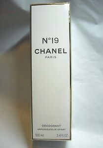 2dd617292f Details about WOMENS NEW CHANEL 19 NO 19 NO. 19 PERFUME SCENTED BODY  DEODORANT SPRAY 3.4 OZ
