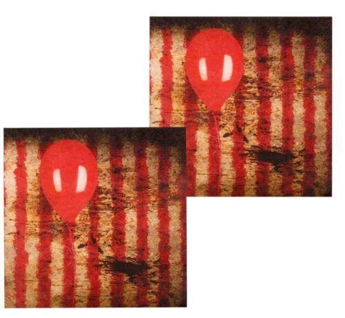 Halloween Horror Clown Servietten 12 Stück NEU