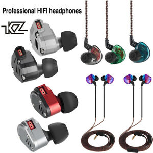 Oxygen-free copper audio earphone upgrade cable cord for kz zs5 zs6 zsr zs10 BS