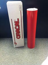 Oracal 651 1 Roll 24x10yd30ft Red 031 Gloss Sign Vinyl