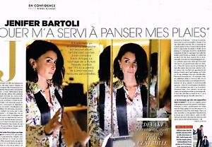 C Coupure De Presse Clipping 2018 2 Pages Jenifer Bartoli Ebay