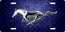 mustang horse new design Airbrushed car tag license plate 50