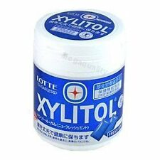 Lotte Xylitol Sugar Free Chewing Gum Peppermint 61g Made From Thailand Candy