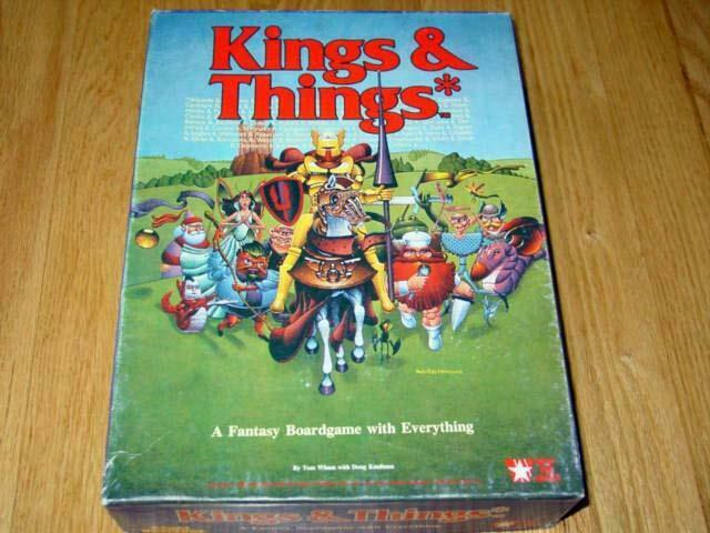 West End Games   Games Workshop 1986 - Kings & Things - A Fantasy Game (Great)