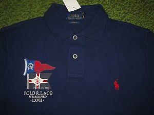 Coupe Ajustée (L) Polo-Ralph Lauren Maille Queue de Cheval ... 592b2514c5a