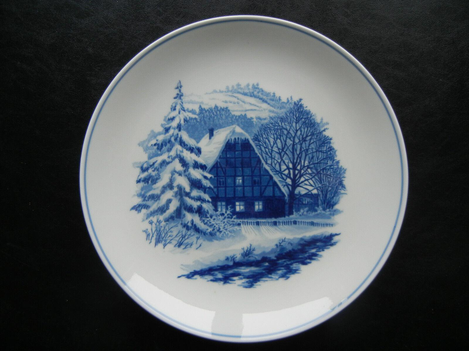 Meissen por 1963 pignon d'un enneigée truss maison (mes pos. 10)