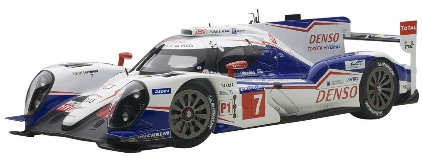 AUT81415 - Voiture de courses des 24 h du Mans de 2014 TOYOTA TS040 N°7 équipage