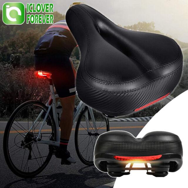 Comfort Wide Big Bum Bike Bicycle Gel Cruiser Extra Soft Seat Saddle Sport P6W9