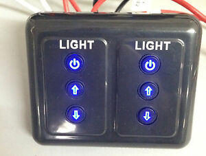 Image Is Loading Brand New Exclusive Rv Led Dimmer Switch Dual