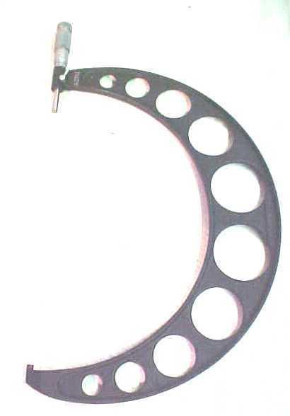 Marrón & Sharpe herramientas fuera de micrómetro 10-11    /.0001 7c22c8