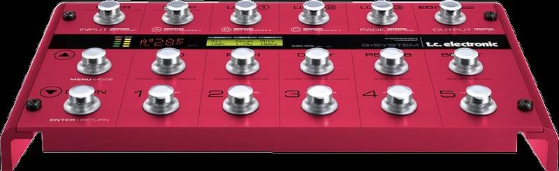 TC Electronic G-System Ib Modified Multieffekte für Gitarre mit Umbau Ib