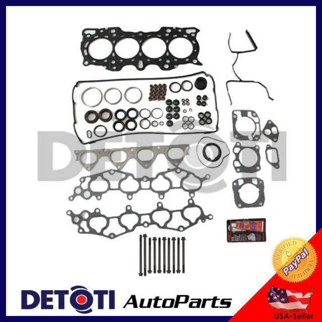 Head Gasket Set Bolts Kit For 90-20 Acura Integra 1.8L I4