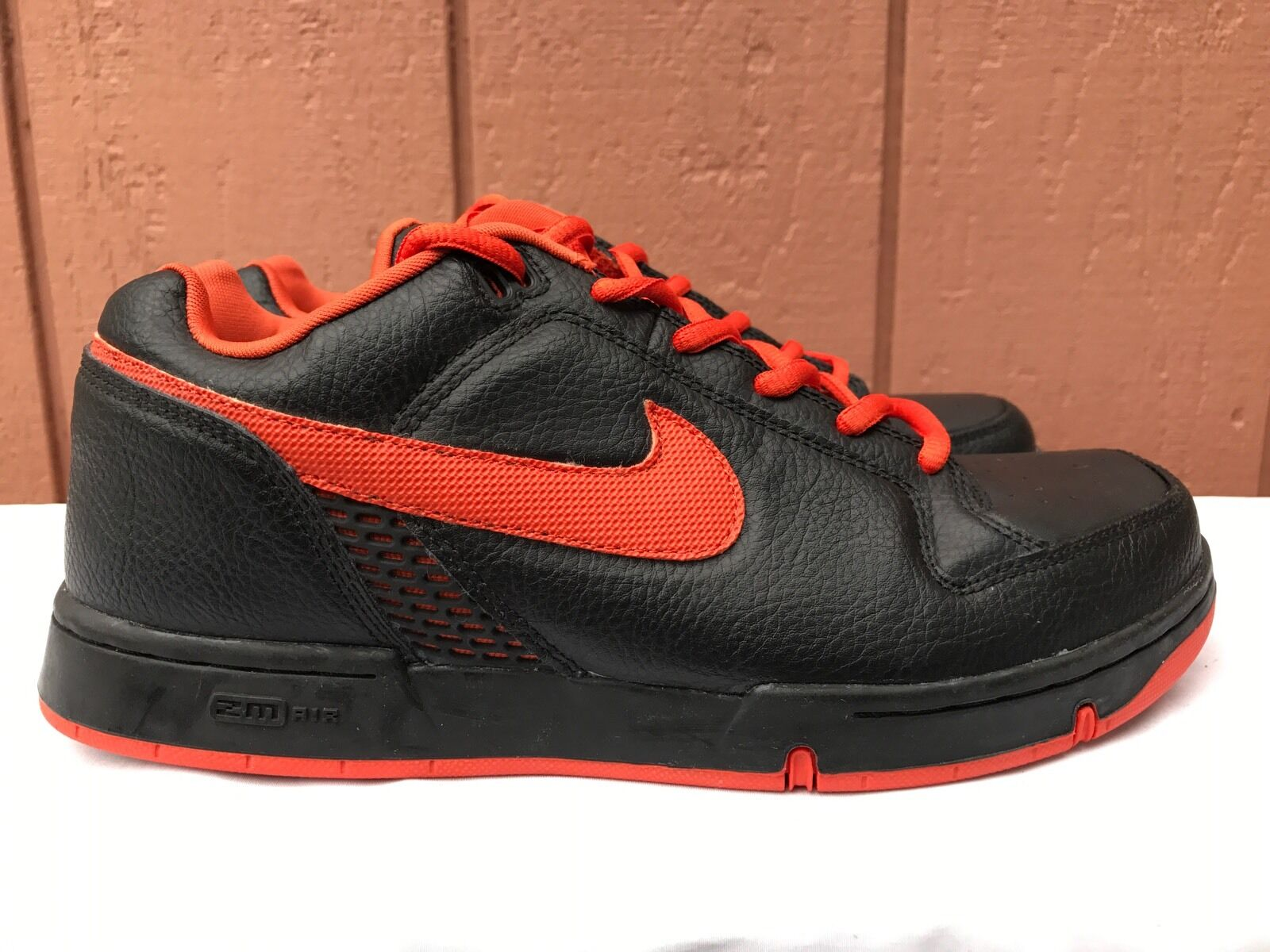 2003 Nike Dunk ZOOM AIR ANGUS SB BLACK ORANGE AMSTERDAM XXX 307247-081 US 8.5