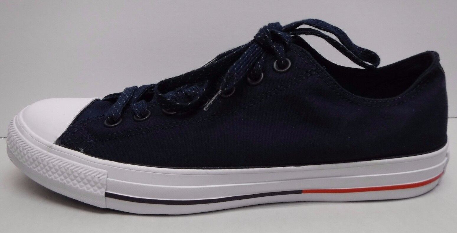 Converse Size 9.5 Blue Canvas Sneakers New New New Mens Shoes 1c7644
