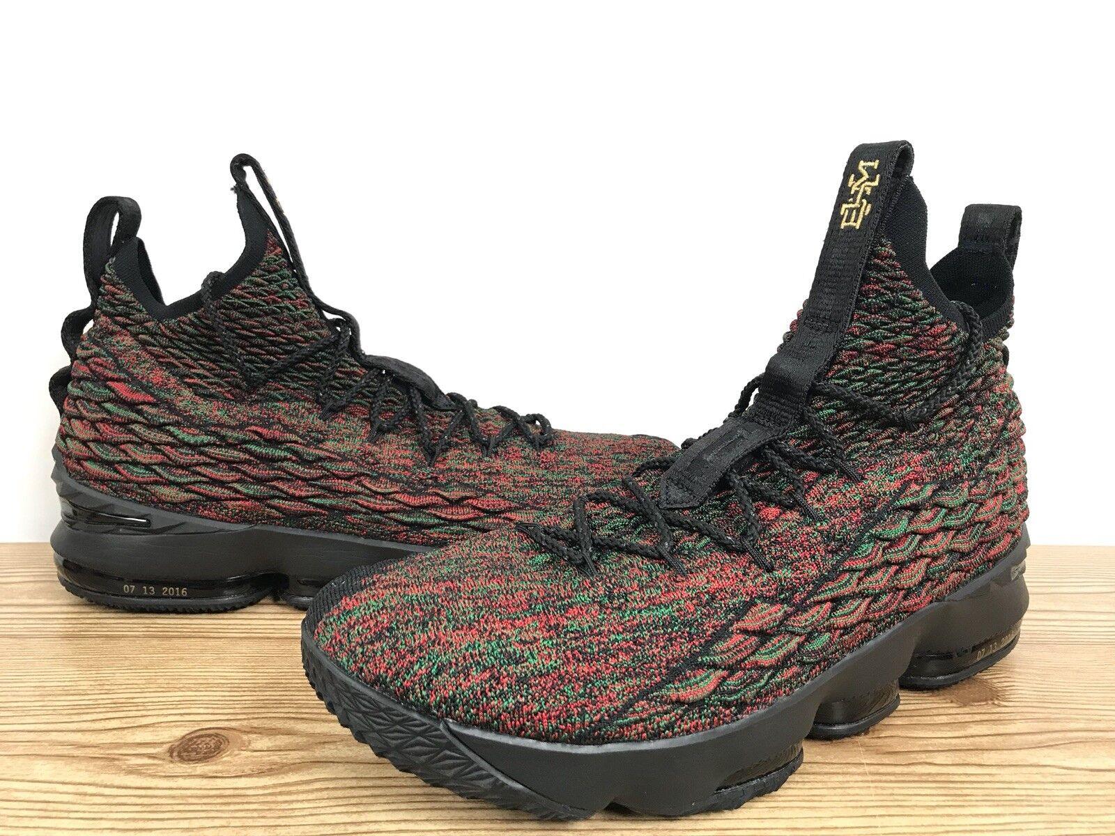 eb7891b0f8 Nike Lebron 15 XV LMTD BHM Sz 15 Black History Month Multi-color 897650-