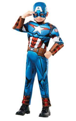 Rubie/'s Official Marvel Avengers Captain America Deluxe Child//Boys Costume