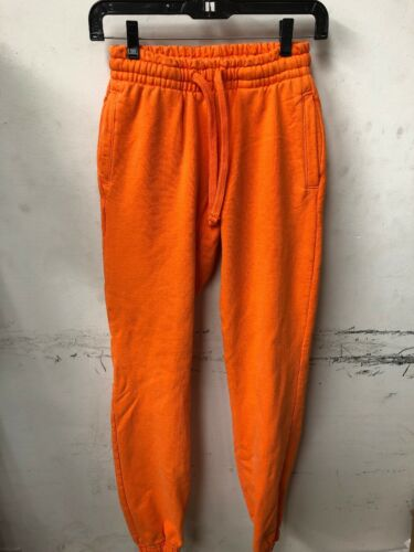 Talentless Clothing Scott Disick Women/'s Neon Orange Premium Sweatpants Size XS