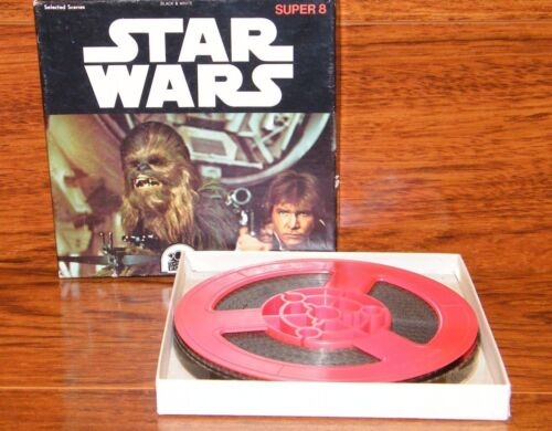 Selected Scenes Vintage FILM REEL Star Wars BLACK /& WHITE 42.5 Metres Super 8