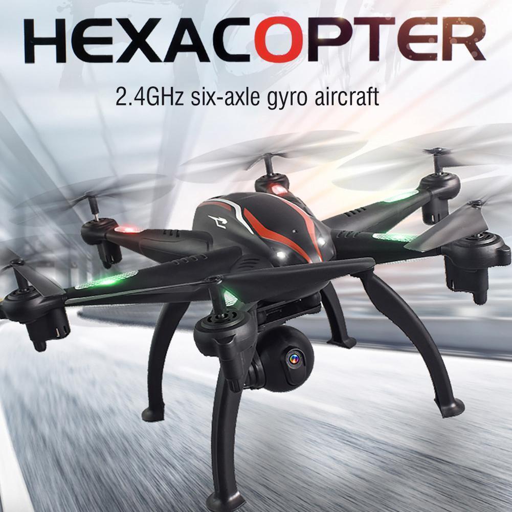 L100 GPS RC drone 6-alineación 5g quadcopter hexacopter 1080p-gran angular-WiFi-cámara