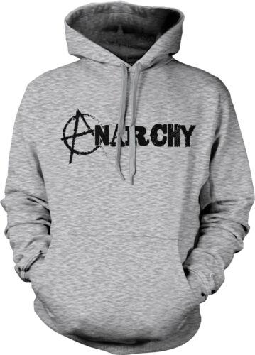 Anarchy Anarchist Circle A Anarcho Punk Anti Government Order Hoodie Sweatshirt