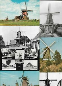 Windmill-Mill-Mills-Most-are-RPPC-Lot-of-20-Postcards-01-08
