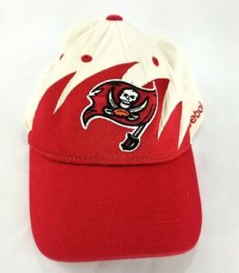 Reebok NFL Hat Cap Tampa Bay Buccaneers Sports Team White Elastic ... 736501003