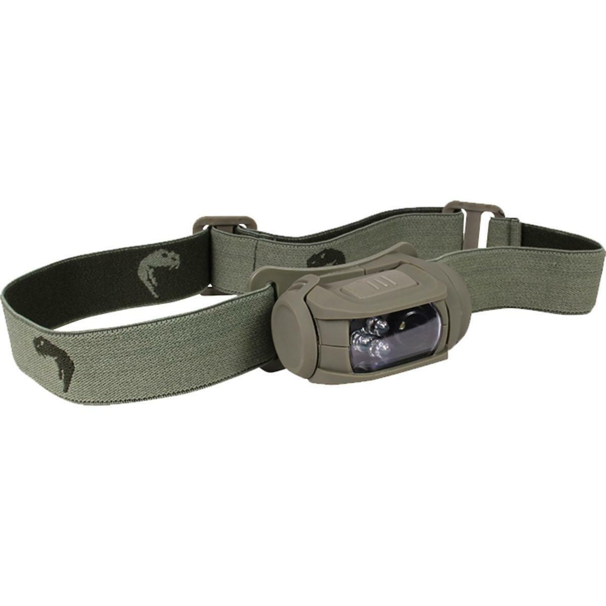 LIGHTWEIGHT HUNTING LAMPING SPECIAL OPS LED HEAD TORCH HEADTORCH HEAD LAMP