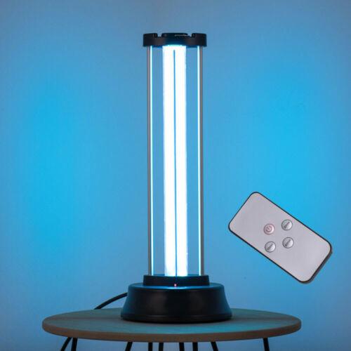 UV-C Lampe Sterilisator Ozon Viren KEIMTÖTEND Leuchte Desinfektion FERNBEDIENUNG
