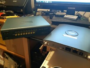 CISCO WLAN 2100 AIR-WLC2106-K9 V03 WIRELESS LAN CONTROLLER /& POWER ADAPTER