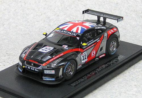 EBBRO 44712 NISSAN GT-R GT1 2011 JRM Racing  22 (Noir) échelle 1 43