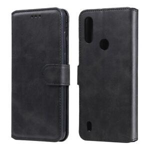 Custodia-Per-MOTOROLA-MOTO-E6S-Cover-LIBRO-STAND-portafoglio-case-magnetica-gel