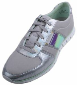 Cole-Haan-ZeroGrand-Women-039-s-Vapor-Grey-Iridescent-Casual-Sneakers