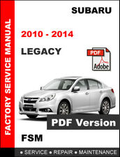 subaru 2010 legacy maintenance schedule