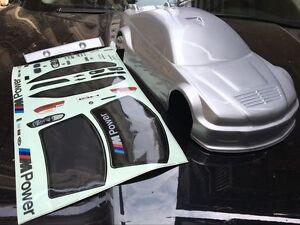 1 10 Rc Car Lexan Drift Onroad Body For Bmw E92 E46 M3 Wide R4g E30