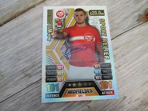 Match Attax firmado 10
