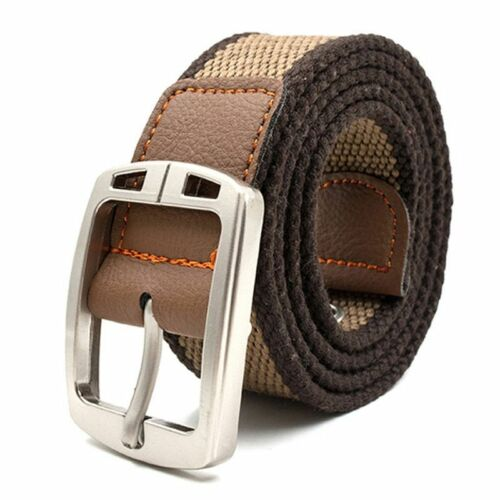 Unisex Military Belt Outdoor Tactical Canvas Jeans Luxury Casual Strap Centuries