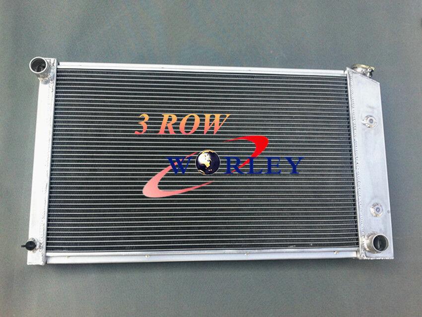 fans Aluminum Radiator Pontiac Firebird Trans Am 1970-1981 1976 1977 1978 1979